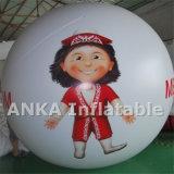 Decoración inflable del globo del corazón de la forma para la boda
