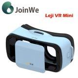 Capacete de Vr dos vidros dos vidros 3D da realidade virtual de Leji Vr mini
