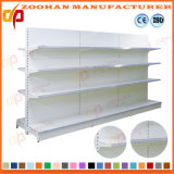 Hochwertiges Doppeltes versieht Supermarkt-Bildschirmanzeige-Regal mit Seiten (ZHs603)