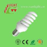가득 차있는 나선 T3 18W 에너지 절약 램프 CFL 빛