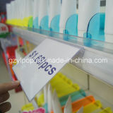 PVC Data Strip di Plastic del supermercato per Shelf