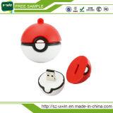 Do presente aceitável da promoção do OEM movimentação feita sob encomenda do flash do USB de Pokeball Pikachu