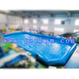 Water Outdoor Trampoline Park Slide Octopus Piscine gonflable / Giant Inflatable Pool
