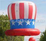LED gigante Helium Balloon/Hang Balloon/Inflatable Hat Party Balls para Sale