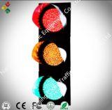 indicatore luminoso pedonale del segnale stradale di 200mm con il conto alla rovescia (quadrato)