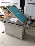 Máquina plana de vidro manual da cópia de tela de seda do vácuo de TM-6080s