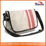 Custom PU PVC Leather Sling Ombro Cross Body Messenger Bag para homens