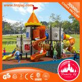 Cour de jeu extérieure fonctionnelle d'amusement de jardin d'enfants