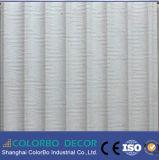 Los paneles de materiales de construcción de la onda hermosa pared decorativos