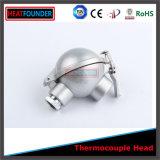 Thermocouple imperméable à l'eau isolé réfractaire d'alumine