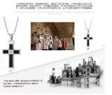 Edelstahl-hängende quere hängende Halsketten-Form-Schmucksachen (hdx1006)