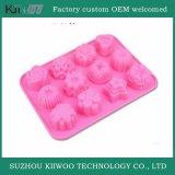 Produtos personalizados do Kitchenware do molde do bolo do cozimento da borracha de silicone