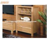 Hölzerne Schrank-festes Holz Fernsehapparat-Schrank-Wohnzimmer-Möbel-hölzerne Wand-Brust