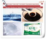 Línea de embalaje automática de la bolsa del agua de la alta calidad precio en la India/la máquina líquida estéril