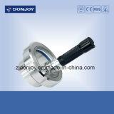 Tipo vidrio de la unión de la abrazadera del sello de los Ss 304 EPDM de vista