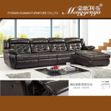 China-Fabrikmanuelles Recliner-Leder-Sofa (826)
