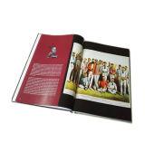 Alto libro di Hardcover di Qaulity con una stampa del rivestimento di polvere (jhy-316)