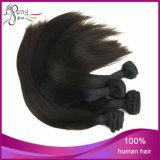 自然で黒く膚触りがよくまっすぐで安いブラジルのRemyの毛の拡張