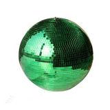 25cm 손은 유리제 자전 미러 공 디스코 홈 당 단계 훈장 반영 거는 공을 만들었다