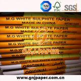 Papel de empaquetado del sulfito blanco del precio competitivo M.G. para la fuente de Mcdonald