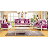 Sofà di cuoio italiano per la mobilia del salone (D992A)