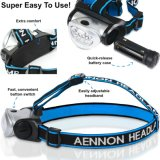 Mini Headlamp Flashlight con Red LED Light Super Bright Lightweight y Comfortable Easy to Use Headlight