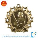 Medaglia di baseball personalizzata alta qualità in oro/argento/ottone