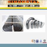 curva pulida 2D/3D/4D del acero inoxidable de Dn250 304L/316L/321L