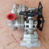 API602 Acier inoxydable forgé en acier inoxydable F316 / F316L Soupape de fermeture de fil