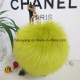 Gefälschter Dekoration-Großhandelsanhänger des Pelz-POM POM