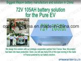 Batteria della batteria 72V 105ah LiFePO4 dell'E-Automobile di Wholesell