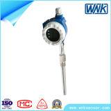 Émetteur de grande précision sec de la température 4-20mA/Hart avec le boîtier et l'écran LCD d'Al