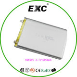 Батарея 606090 3.7V полимера лития Replacemetn PC таблицы с 4000mAh