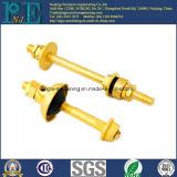 ISO9001 en SGS Precisie CNC die de Delen van het Messing machinaal bewerkt