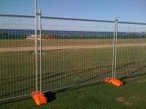 임시 직원 Fence 또는 Wire Fence