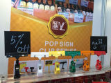 Supermercato Promotion Display Pop Clip Sign Holder su Shelf
