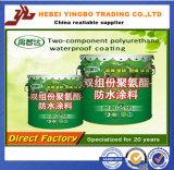 Enchufe de fábrica impermeable de la capa de los materiales dos del poliuretano impermeable del componente