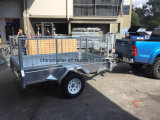 8X5 Fully Weld Box Trailer/Strong Cage TrailerまたはTipping Box Trailer/Utility Car Trailer