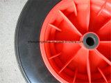3.50-8 외바퀴 손수레 PU 거품 바퀴