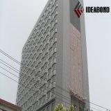 Surtidor material de la construcción de edificios/el panel compuesto de aluminio del final de cepillo