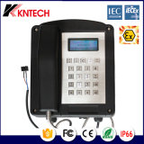 폭발 방지 전화는 Tel Iecex를 증명한다 Knex1 Kntech를 저항한다