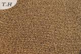 ブラウン100%年のポリエステルシュニールの平野のソファーの布(FTH31011)