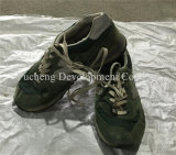 Bequeme verwendete Großhandelsmänner u. Dame Shoes Sport Shoes, lederne Schuhe, Leasure Schuhe (FCD-005)