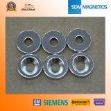 ISO/Ts 16949 bescheinigte permanentes Neodym angesenkte Magneten