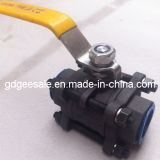 3-PC Ball Valve (With Mounting Flanged)