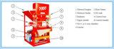 Eco Mater 7000の油圧連結の土の煉瓦作成機械