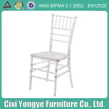 Resin blanco Chiavary Chair para Wedding Mall
