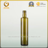 Frasco de vidro verde-oliva de petróleo 500ml Dorica do graduado do alimento (331)