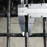 Черная стальная сетка волнистой проволки