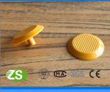 Goujon tactile en plastique d'indicateurs de sûreté colorée